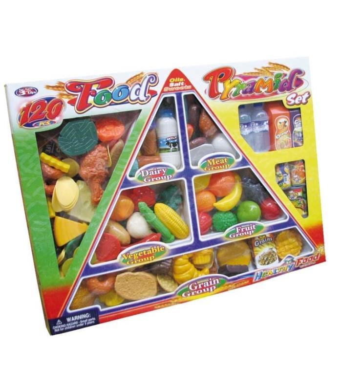 Set Comida Pirámide Alimenticia