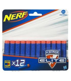 Nerf Elite dardos pack 12