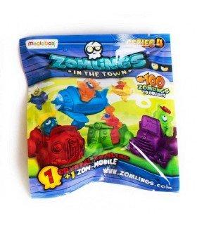 Zomlings serie 4 - Crystal Zomling + Zom Mobile