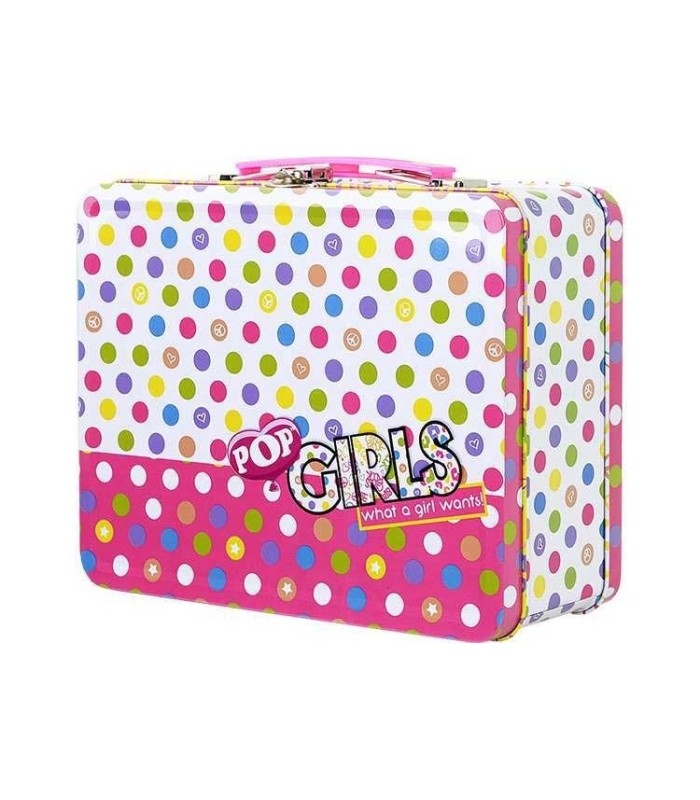 Pop  Girls caja metálica de maquillaje