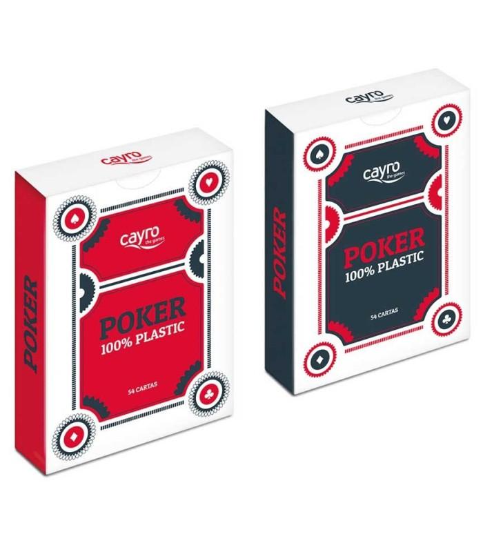 Baraja de Póker 100% Plástico