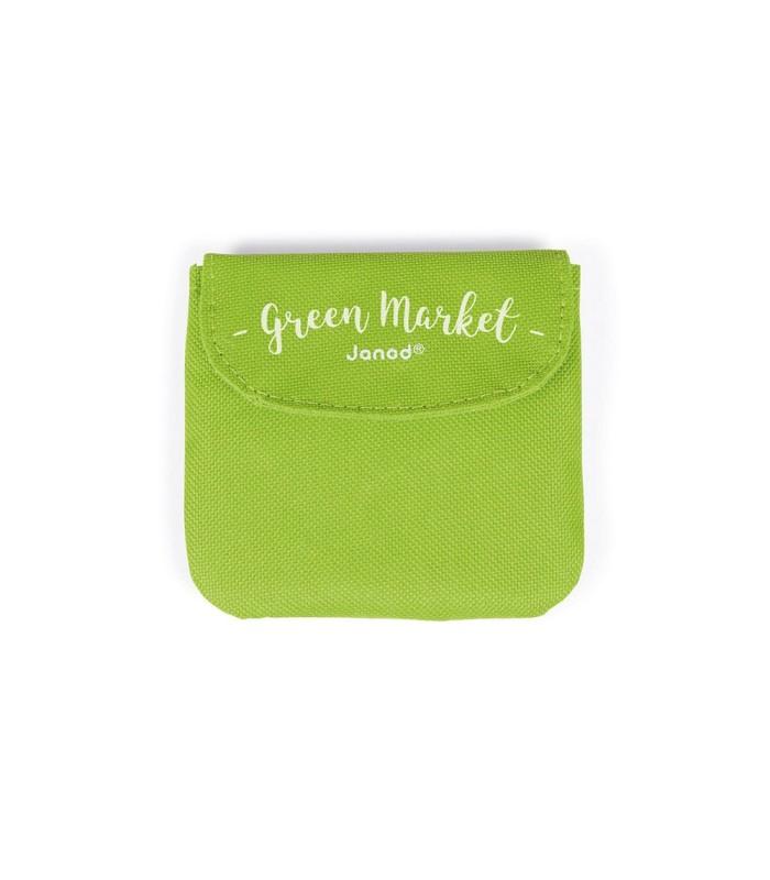 Janod Carrito de la Compra Green Market