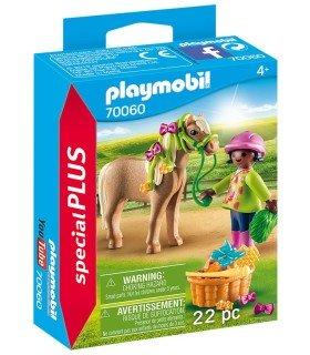 Playmobil 70060 Niña con Poni box