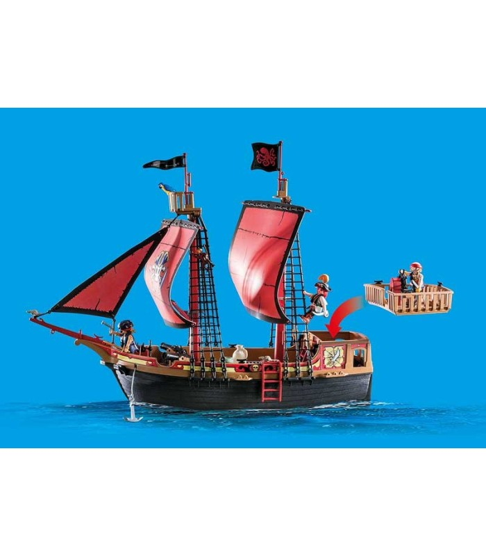 Playmobil 70411 Barco Pirata Calavera