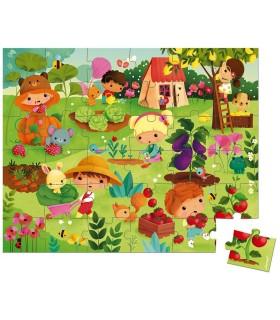 Janod Puzzle El Huerto 36 Piezas