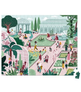 Janod Puzzle Jardín Botánico 200 Piezas