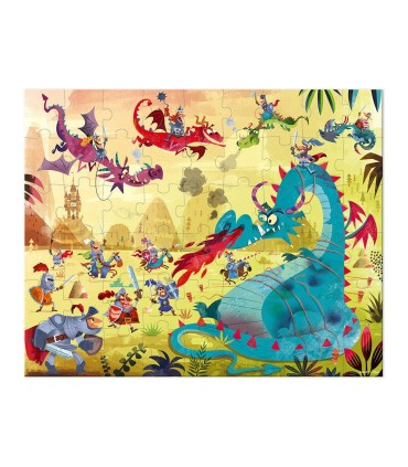 Puzzle Dragones Janod 54 Piezas