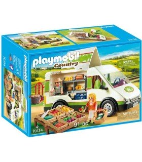 Playmobil 70134 Mercado Móvil box