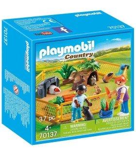 Playmobil 70137 Recinto Animales de Granja box