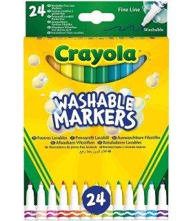 Rotuladores Lavables Punta Fina Crayola caja
