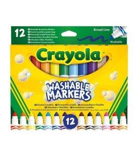 Rotuladores Punta Gruesa Lavables Crayola