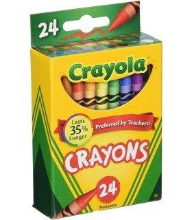 Ceras Crayola 24 Unidades