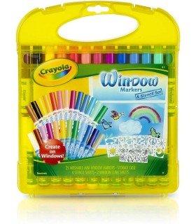 Maletín Rotuladores Para Cristal Crayola
