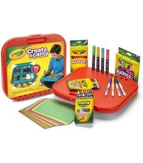 Maletín de Dibujo Crayola 75 Piezas
