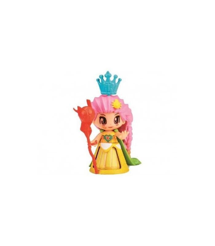 PinyPon Princesas Vestido Amarillo