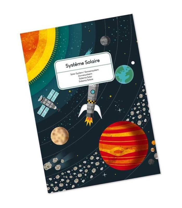 Puzzle El Sistema Solar Janod 100 Piezas libro