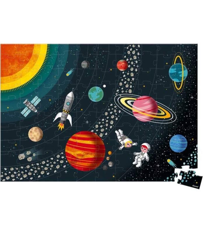 Puzzle El Sistema Solar Janod 100 Piezas