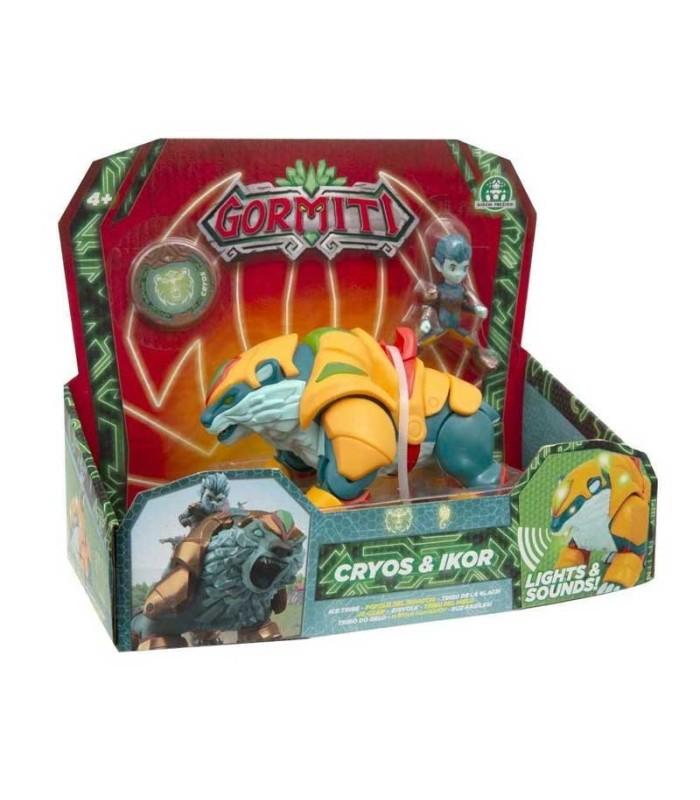 Gormiti S2 Hyperbeast Cryos & Ikor blister