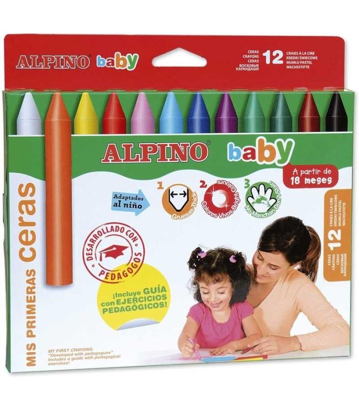 Ceras Alpino Baby Caja 12 Unidades