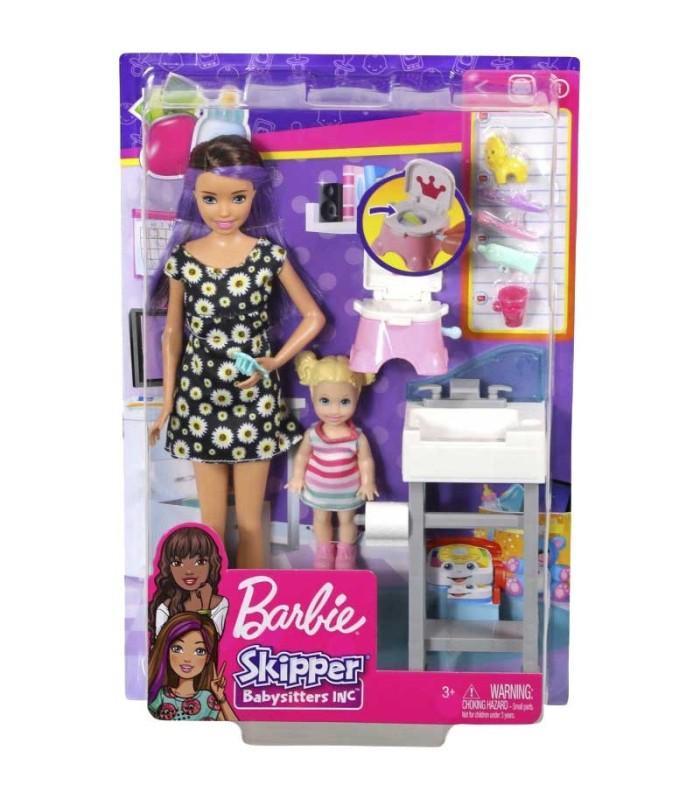 Barbie Skipper Canguro con Bebé blister