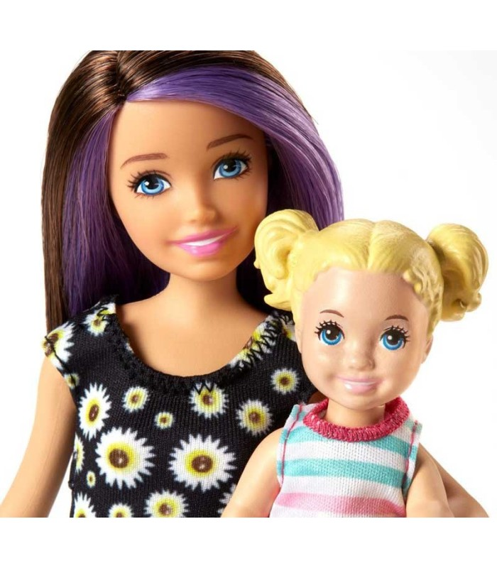 Barbie Skipper Canguro con Bebé detalle
