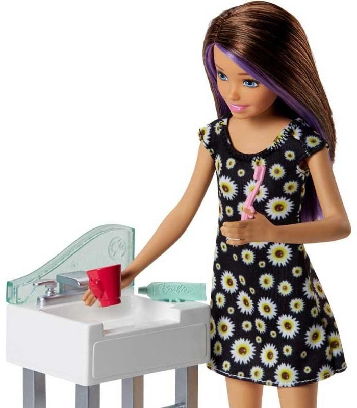 Barbie Skipper Canguro con Bebé detalle1