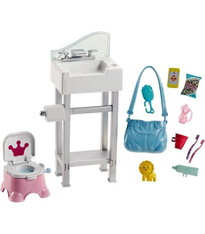 Barbie Skipper Canguro con Bebé accesorios
