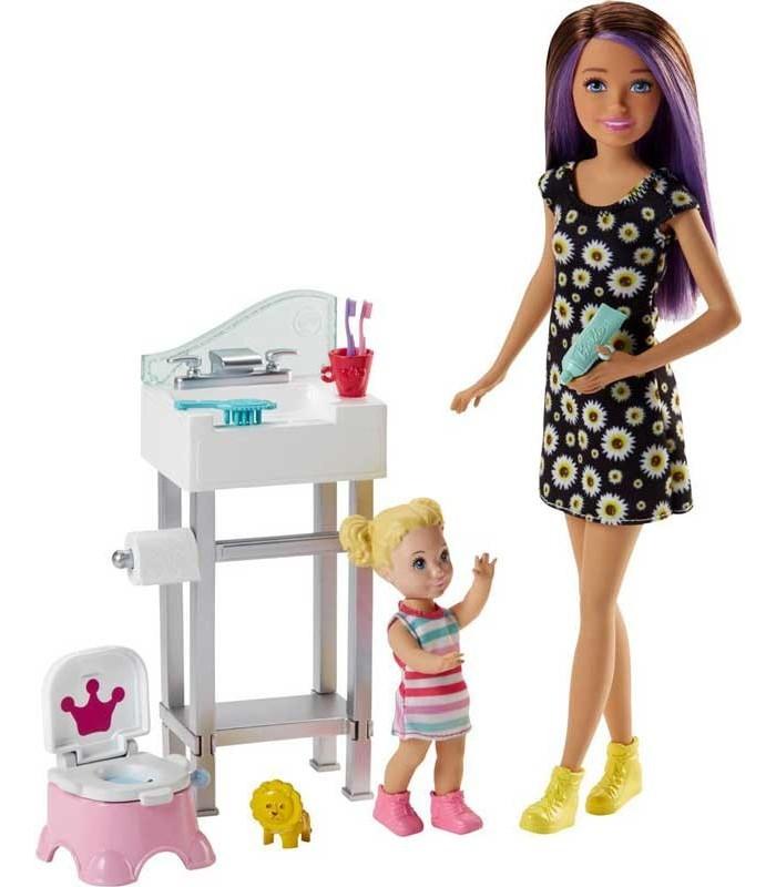 Barbie Skipper Canguro con Bebé