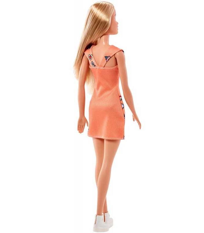Barbie Chic rubia detras