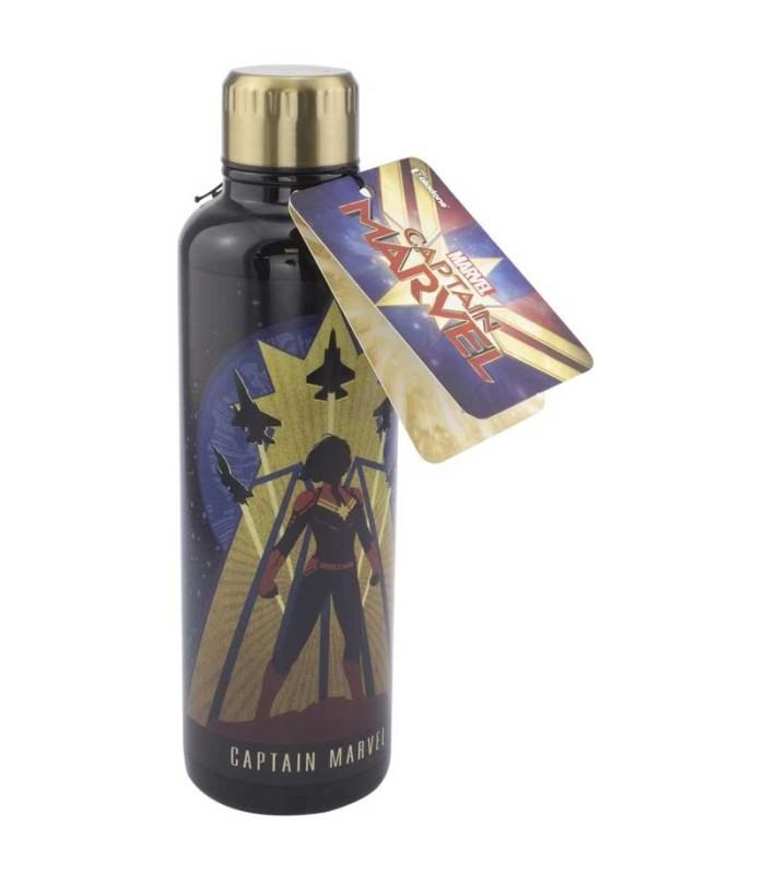 Botella Metálica Captain Marvel