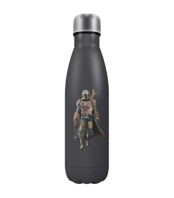 Botella Metálica Star Wars Mandalorian
