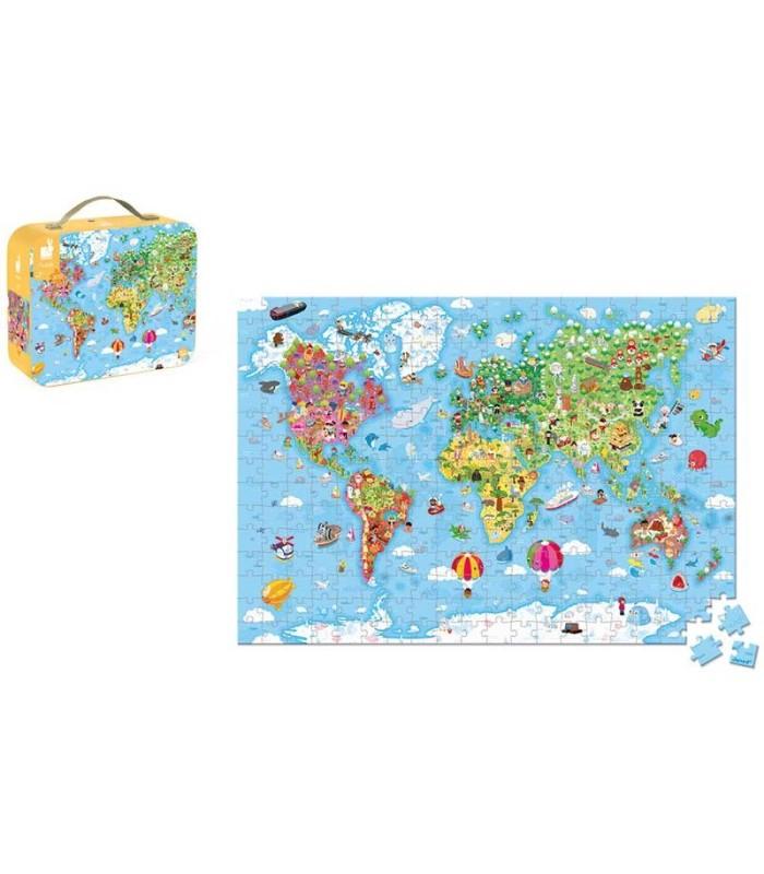 Puzzle Mapa del Mundo 300 Piezas