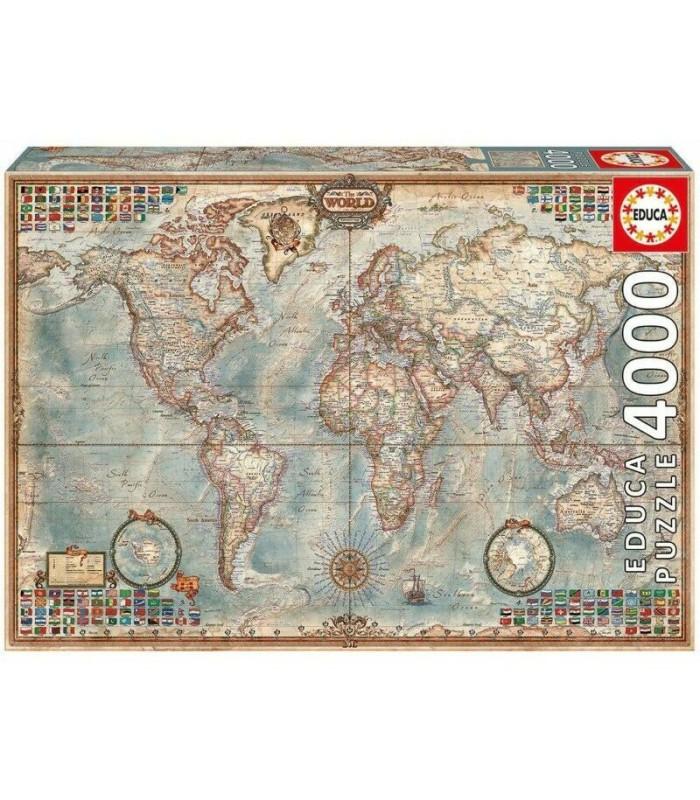 Puzzle El Mundo Mapa Político Educa