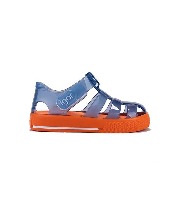 Cangrejera Igor Star Azul Naranja