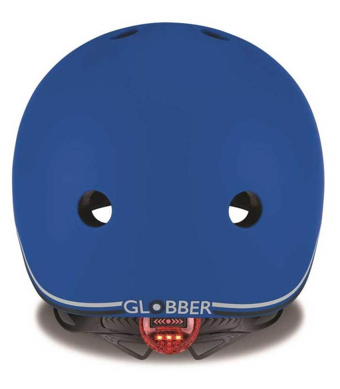 Casco Globber Go Up Lights Navy Blue