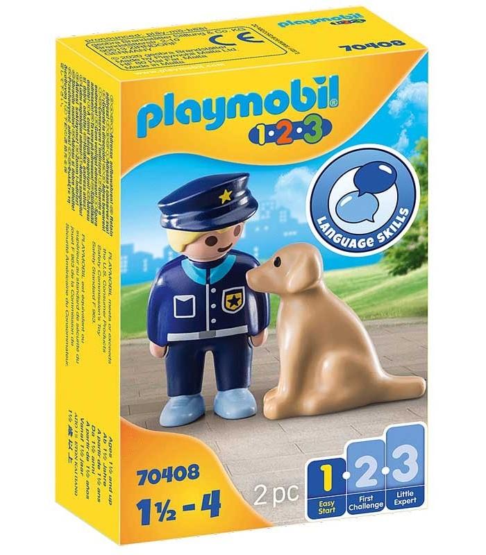 Policía con Perro Playmobil 70408