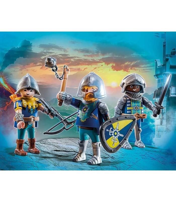 Set 3 Caballeros de Novelmore Playmobil 70671