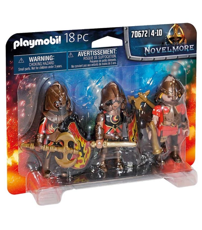 Set 3 Bandidos de Burnham Playmobil 70672