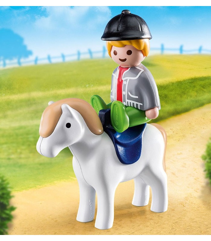 Niño con Poni Playmobil 70410