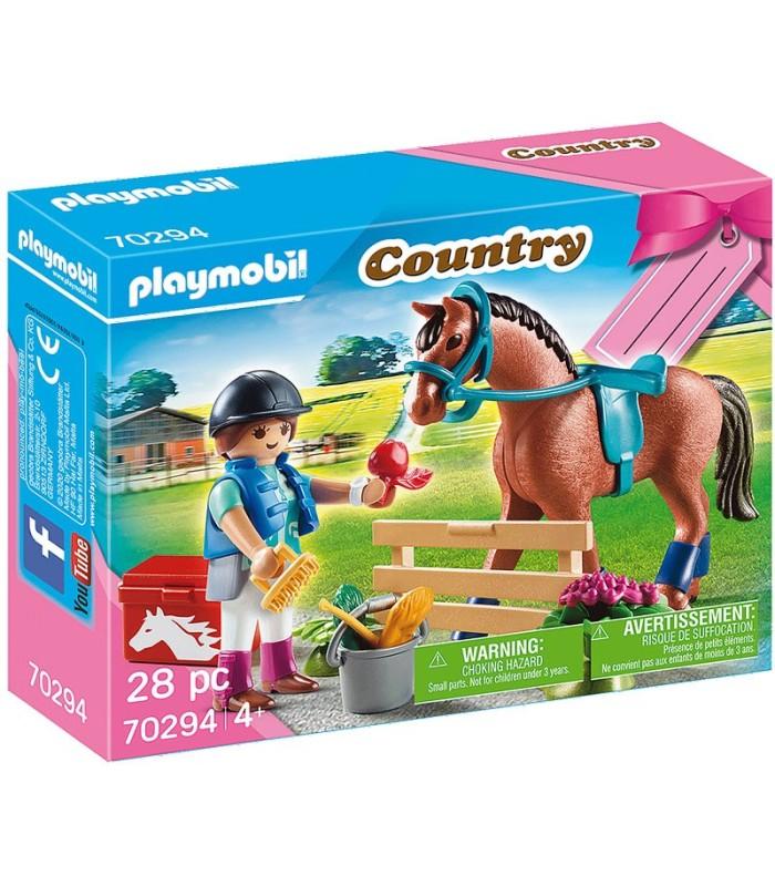 Caballo con Jinete Playmobil 70294