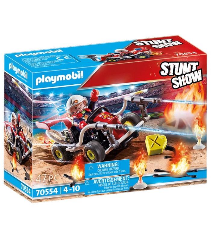 StuntShow Kart Bombero Playmobil 70554