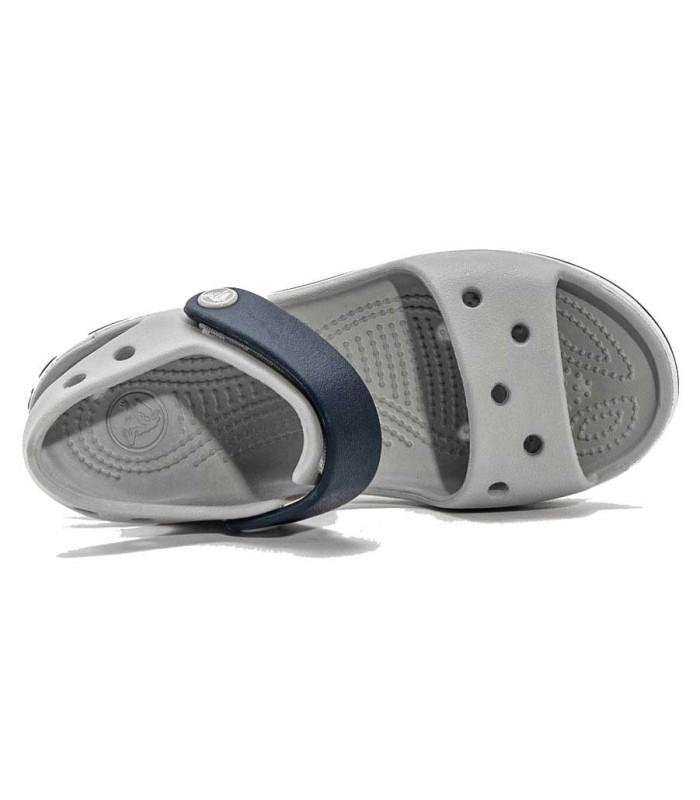 Sandalia Crocs Crocband Light Grey / Navy