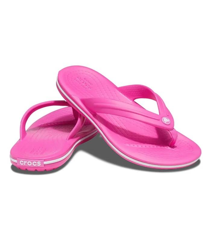 Chanclas Crocs Crocband Flip Electric Pink
