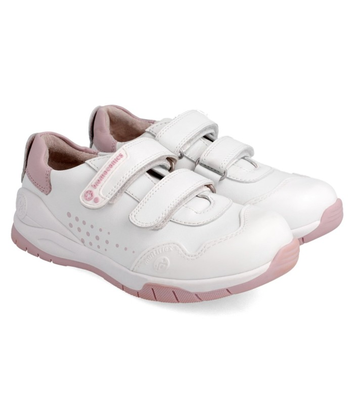 Biomecanics deportiva blanca y rosa