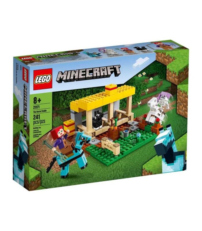 El Establo de los Caballos Lego Minecraft 21171