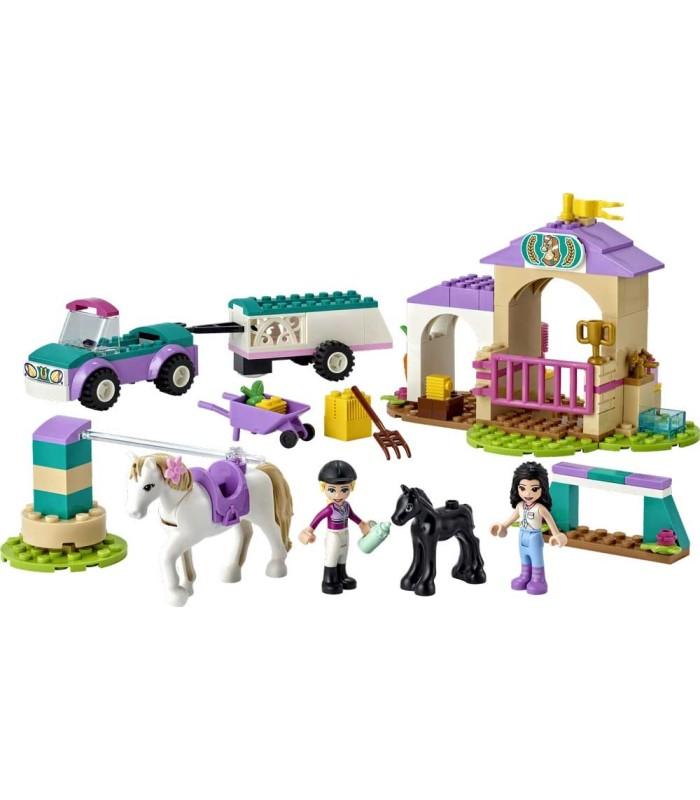 Entrenamiento y Remolque Ecuestre Lego Friends 41441