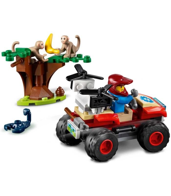 Rescate de la Fauna Salvaje: Quad Lego 60300