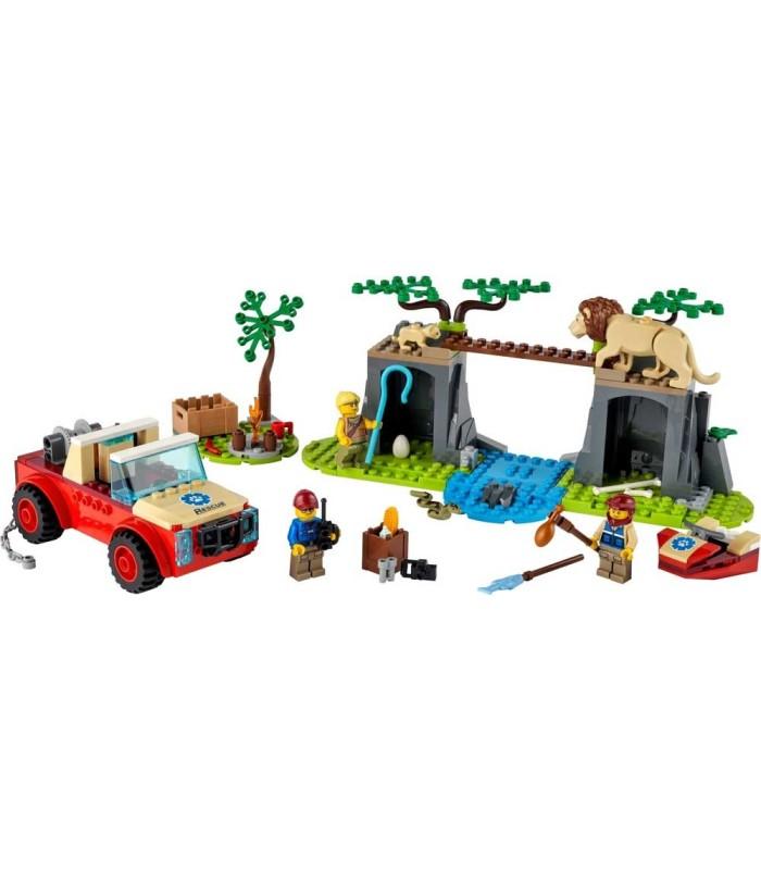 Rescate de la Fauna Salvaje: Todoterreno Lego 60301