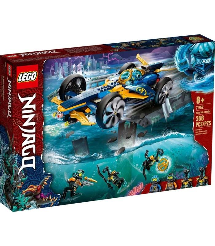 Submarino Anfibio Ninja Lego Ninjago 71752