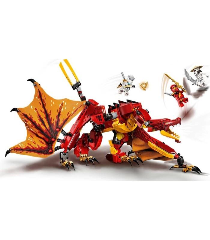 Ataque del Dragón de Fuego Lego Ninjago 71753